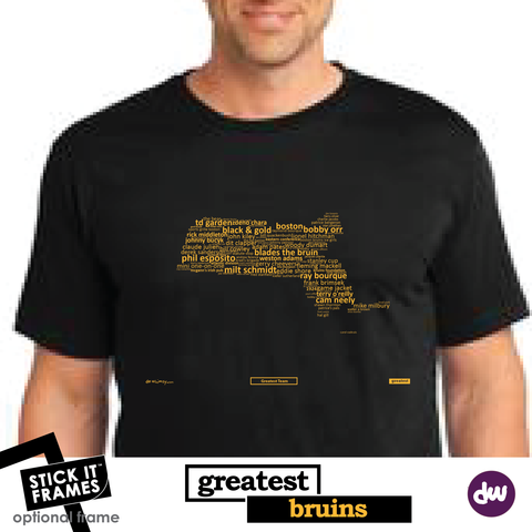Greatest Massachusetts (Bruins) - All Products (Shirt, Art, Frames (R))