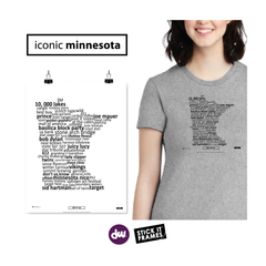 Iconic Minnesota - All Products (Shirt, Art, Frames (R))