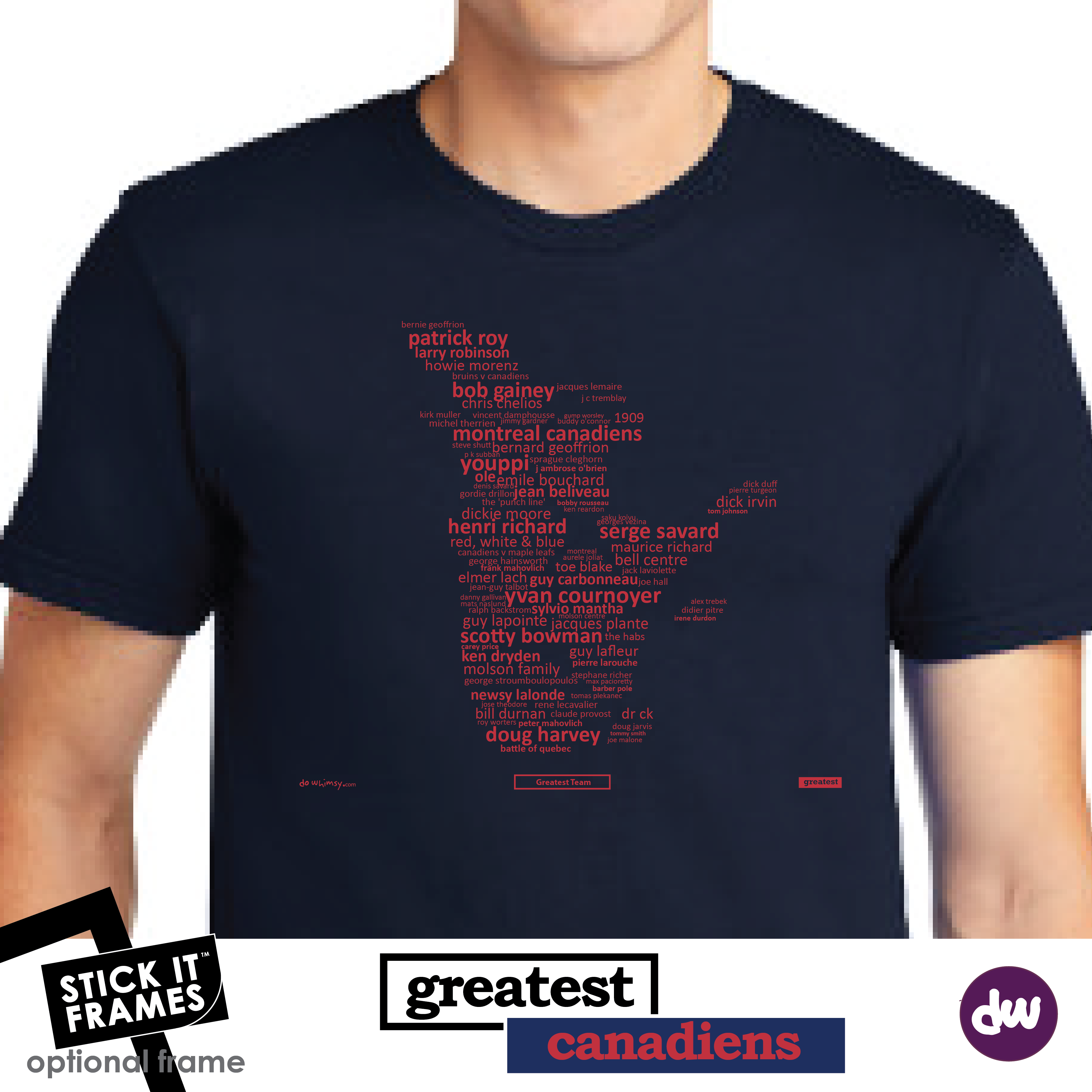 Greatest Montreal (Canadiens) - All Products (Shirt, Art, Frames (R))