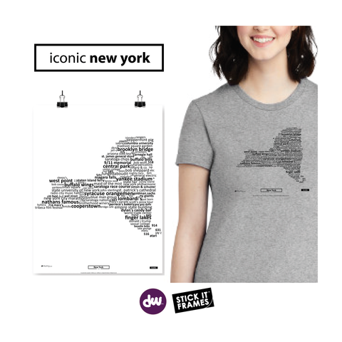 Iconic New York - All Products (Shirt, Art, Frames (R))