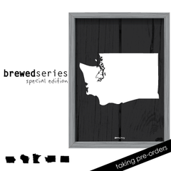 Brewed In WA - Prints & Framed Prints
