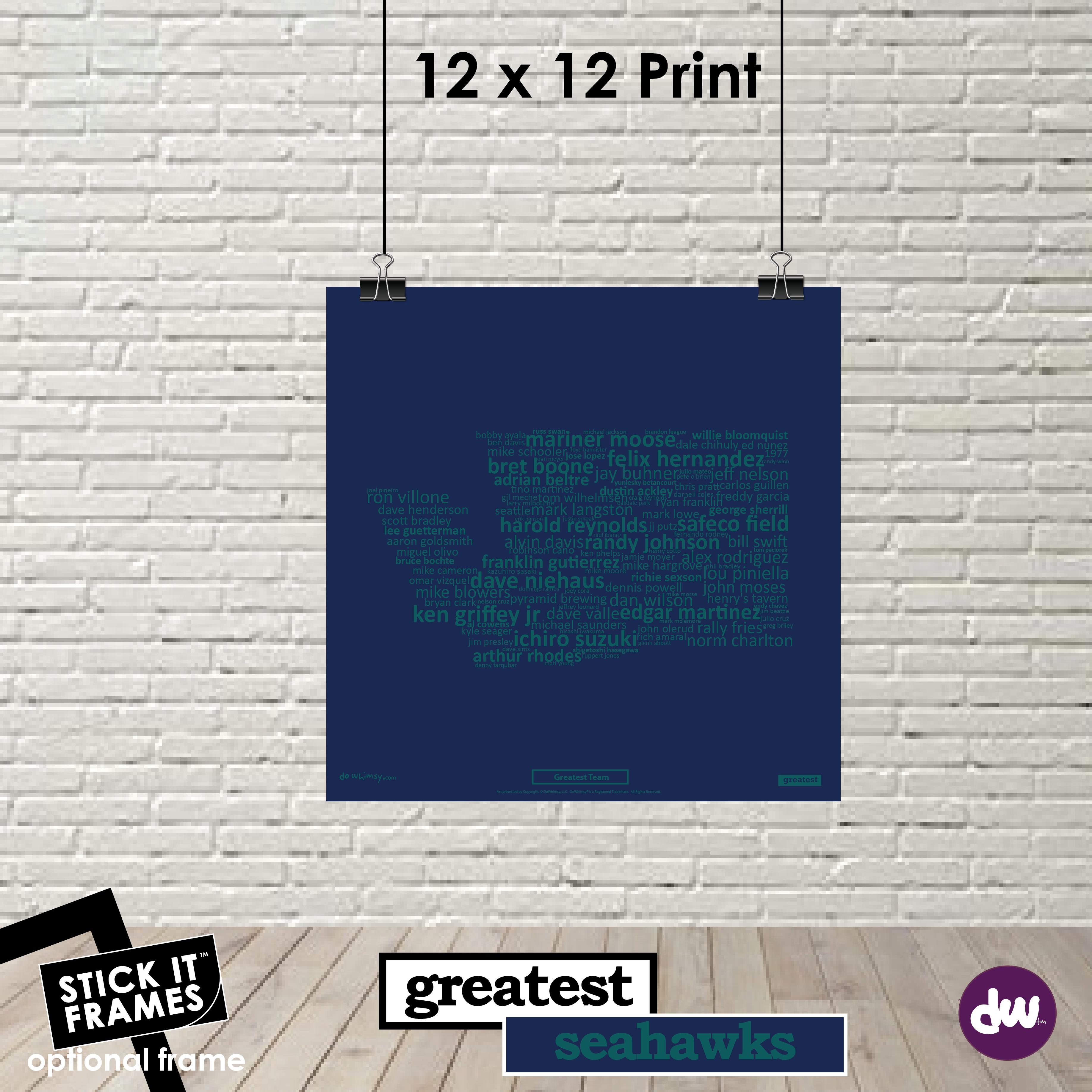 Greatest Washington (Mariners) - All Products (Shirt, Art, Frames (R))
