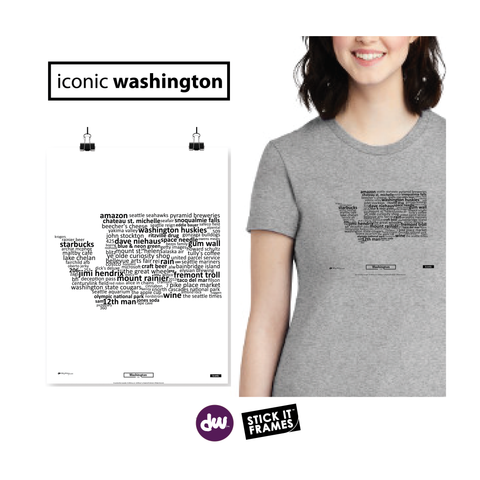 Iconic Washington - All Products (Shirt, Art, Frames (R))