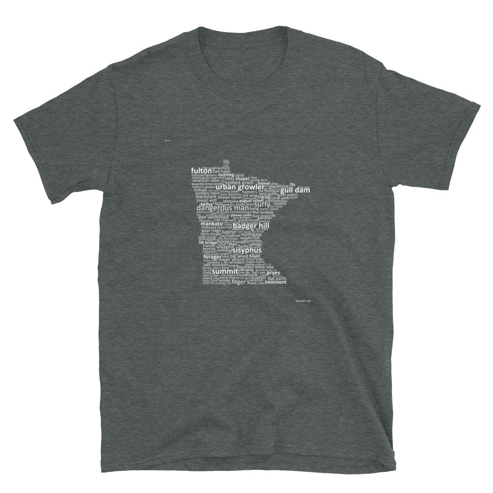 Brewed in MN - Unisex Soft T-Shirt