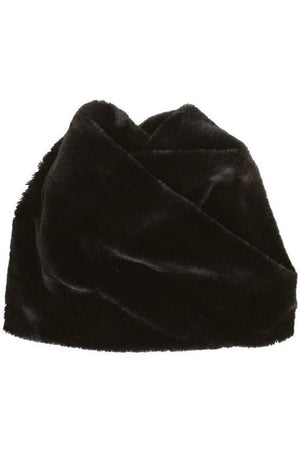 faux fur cowl scarf - Shop trendy womenswear styles on www.downerss.com