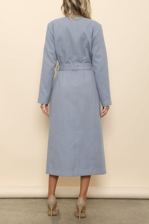 gray trench - Shop trendy womenswear styles on www.downerss.com