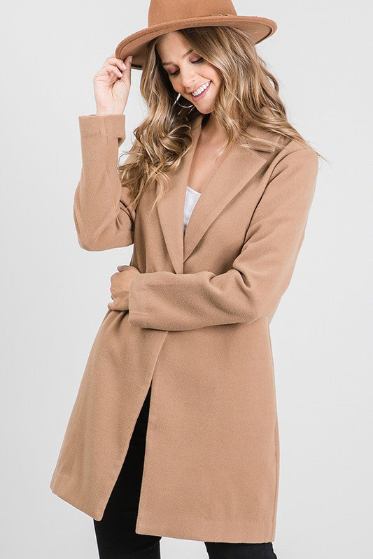Everyday Light Camel Coat