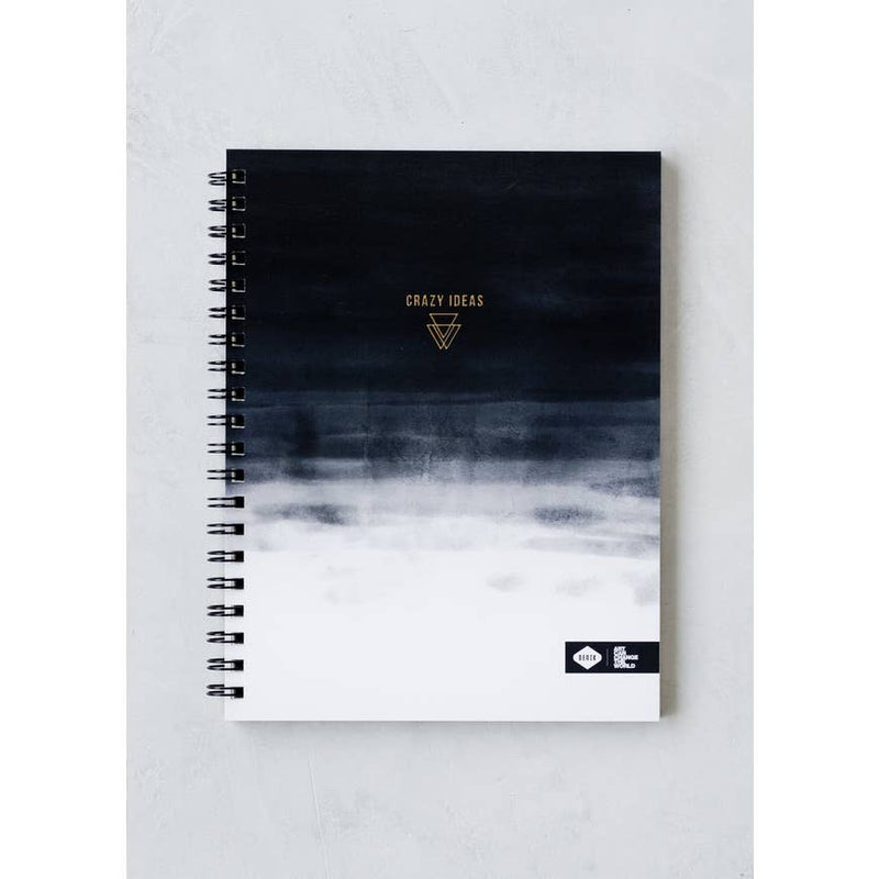 Crazy Ideas Spiral Notebook