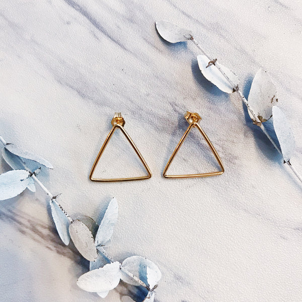 gold minnie triangles