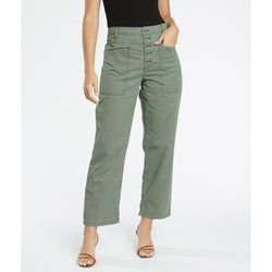 Tammy High Rise Trouser - Colonel