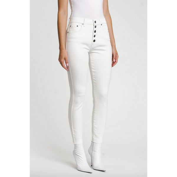 White Denim Skinnies - Aline