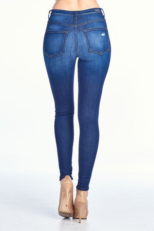 dark blue // high rise - Shop trendy womenswear styles on www.downerss.com