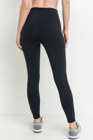 high-waisted work out leggings - Shop trendy womenswear styles on www.downerss.com