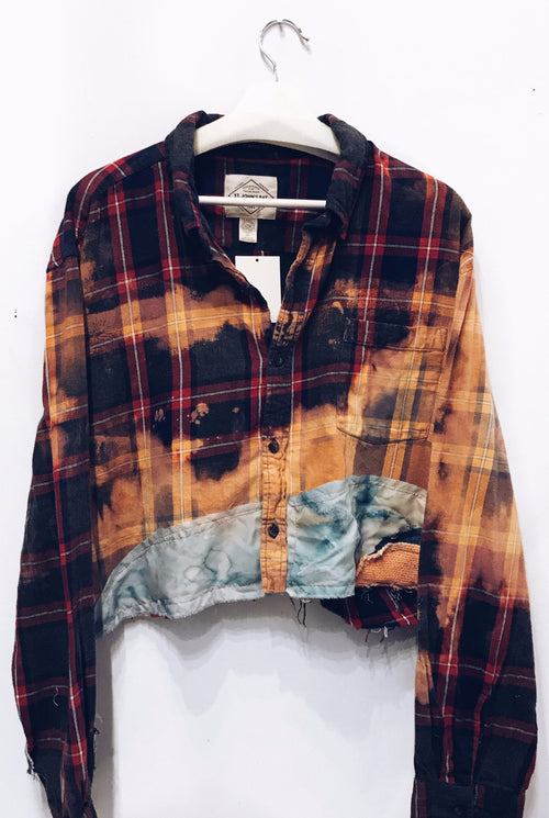 sunflares flannel