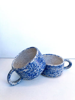 Blue Splatter Mini Mug