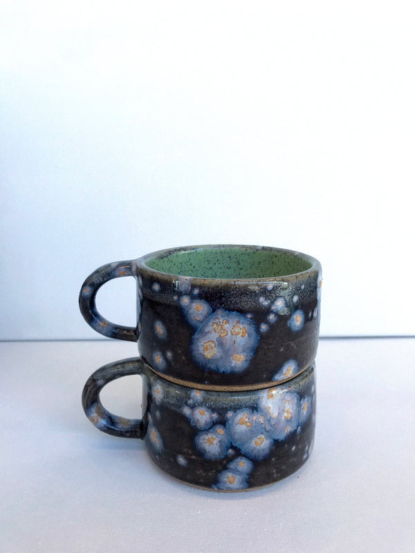 Blue Galaxy Mini Mug
