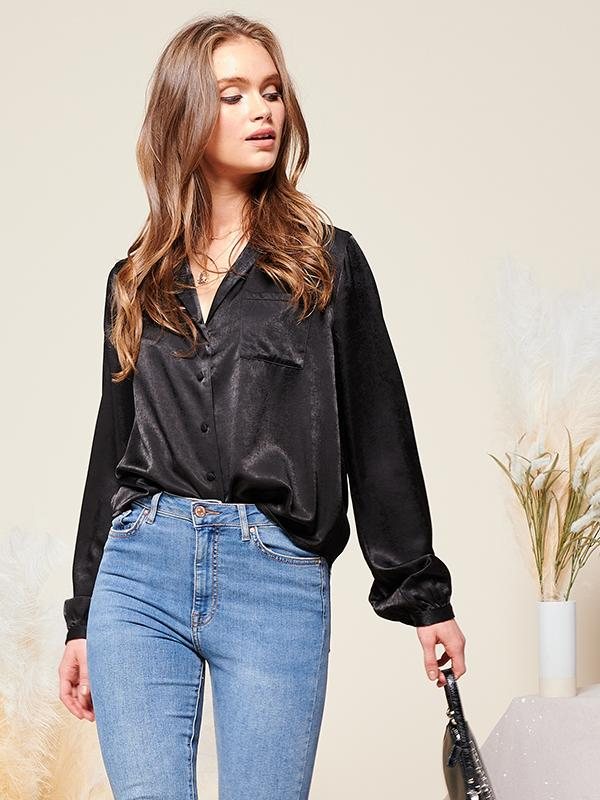 Martha Satin Shirt