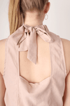 BLUSH CROPPED HIGH NECK TOP - Shop trendy womenswear styles on www.downerss.com