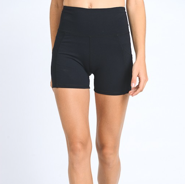 high-waist active shorts - Shop trendy womenswear styles on www.downerss.com