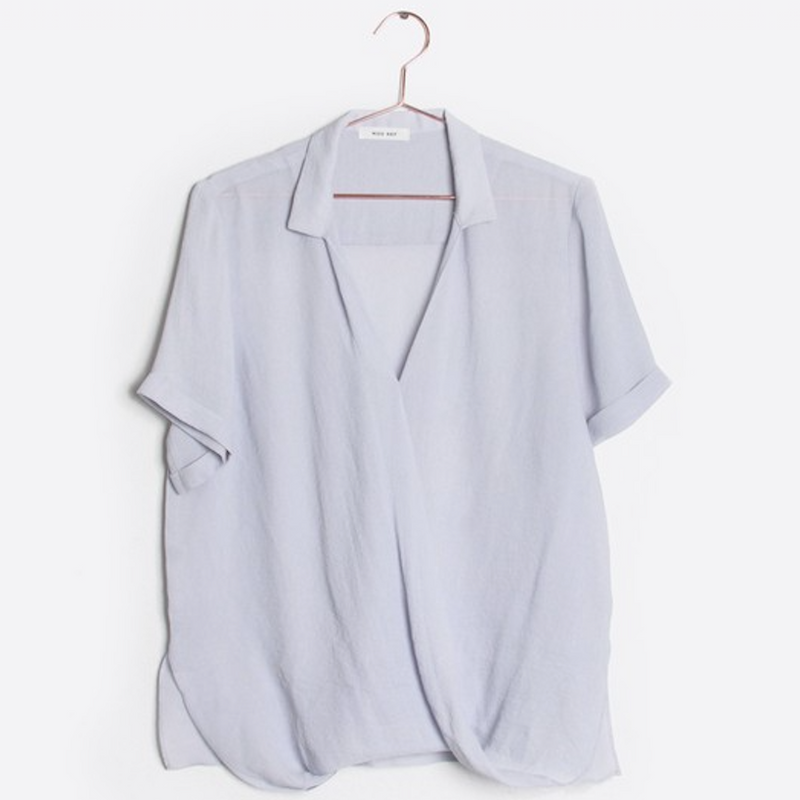 light blue blouse - Shop trendy womenswear styles on www.downerss.com