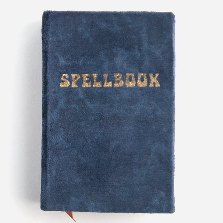spellbook velvet journal