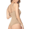 Tan Chain Strap Bodysuit