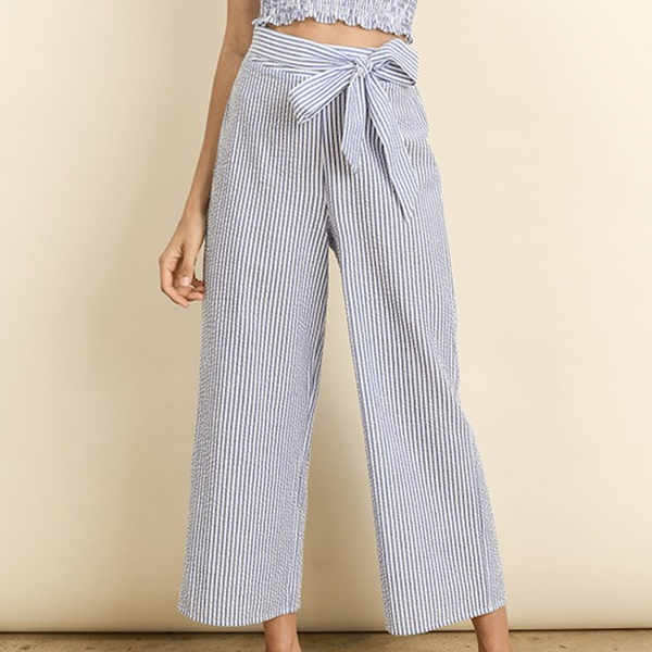 Oxford Striped Pants