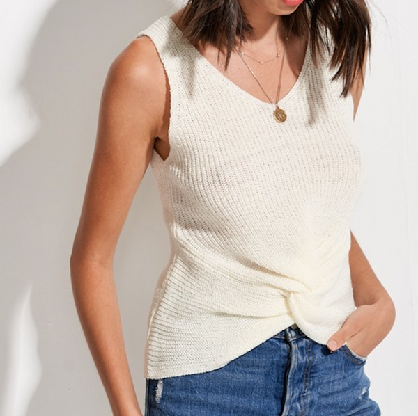 Knit Knot Tank Top