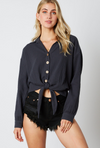 Ink Long Sleeve Blouse