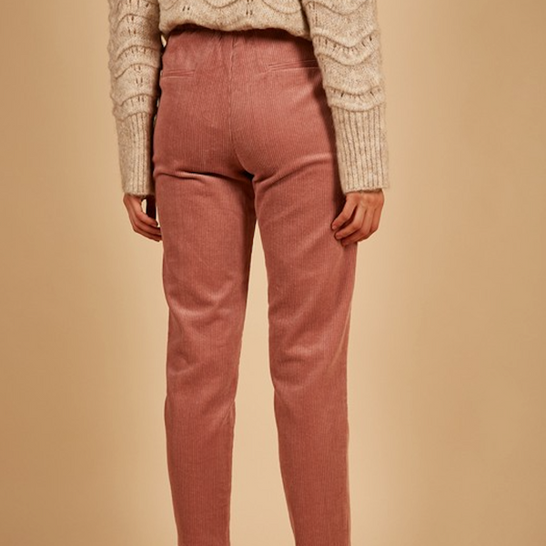 Dusty Pink Corduroy Pants