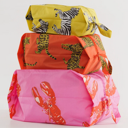 Baggu 3D Zip Set - Fancy Animal
