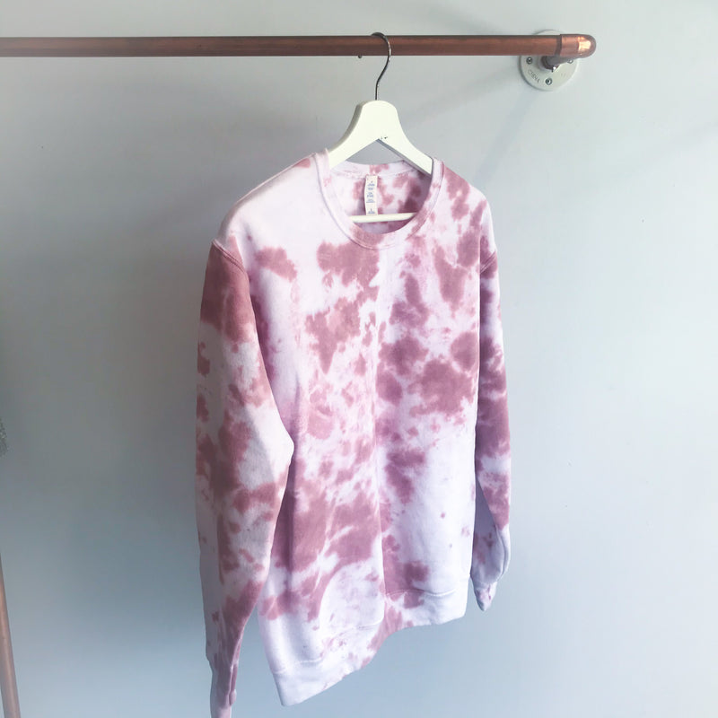 Cloudy Clay Tie Dye Crew Neck