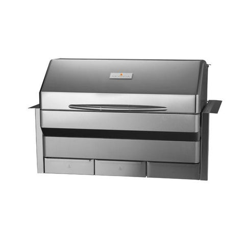 Memphis Elite Built-In wood fire pellet grill Front Right view