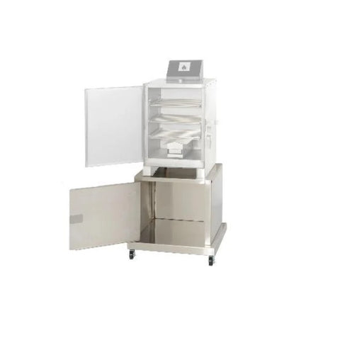 "Image of Cookschack SC002 22"" Stainless Steel Storage Cart for SM009-2"