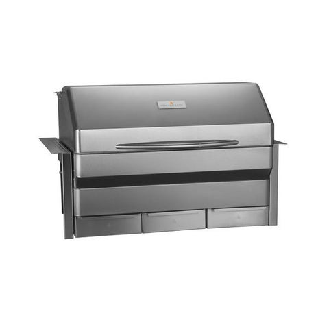 Image of Memphis Elite Built-In wood fire pellet grill Front Left view