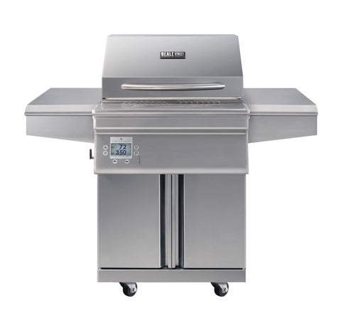 "Image of Memphis BGSS26 Beale Street 51"" Stainless Steel Freestanding Wood Pellet Grill w/ Wifi"