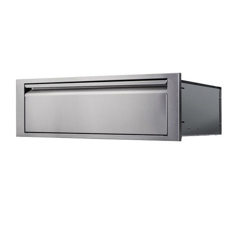 "Image of Memphis VGC42LD1 13"" Stainless Steel Elite Lower Drawer"