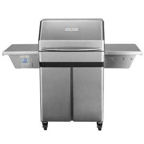 Image of Memphis Pro Wood Fire Pellet Grill Cart Model Front View