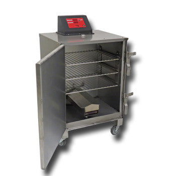 "Image of Cookshack SuperSmoker SM045 20"" Stainless Steel Electric Smoker Oven"