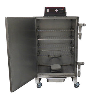 "Cookshack AmeriQue SM066 20"" Stainless Steel Electric Smoker Oven"