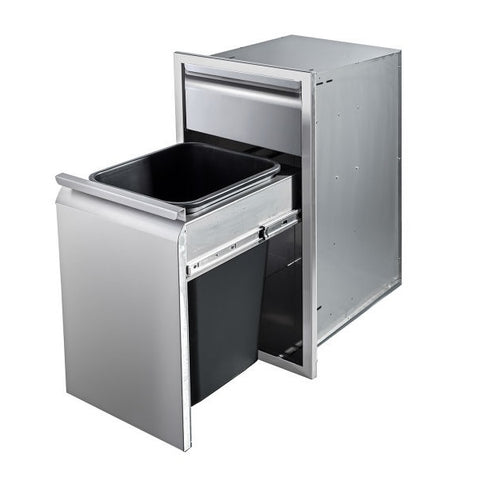 "Memphis VGC15BWB1 15"" Stainless Steel Single and Trash Drawer"