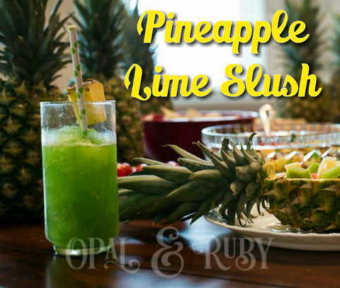 Pineapple Lime Slush