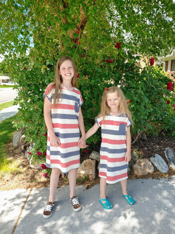 Kids Stars & Stripes Dress