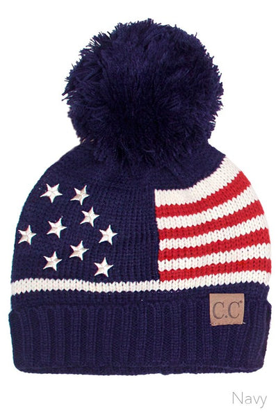 C.C Beanie  | American  |  Adult & Kid Sizes