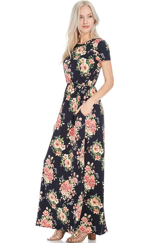 Darcy Floral Maxi  |  Plus Size