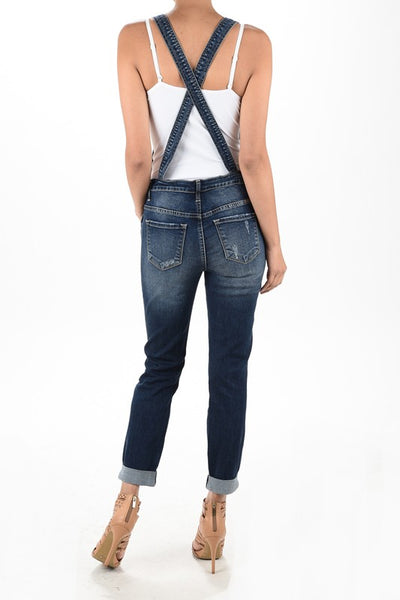 Marley Overalls  |  KanCan  |  XS - XL  |  3 Colors
