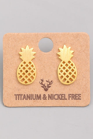 Must Have - Pineapple Earrings