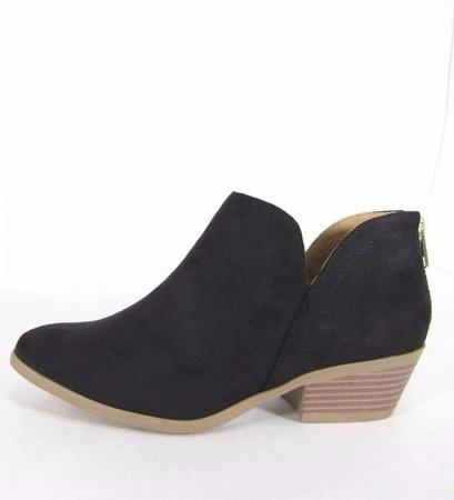 New York Suede Booties