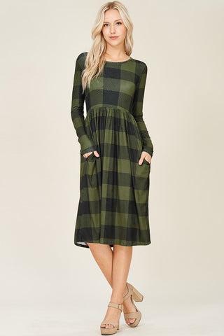 Betty & Judy Plaid Dresses
