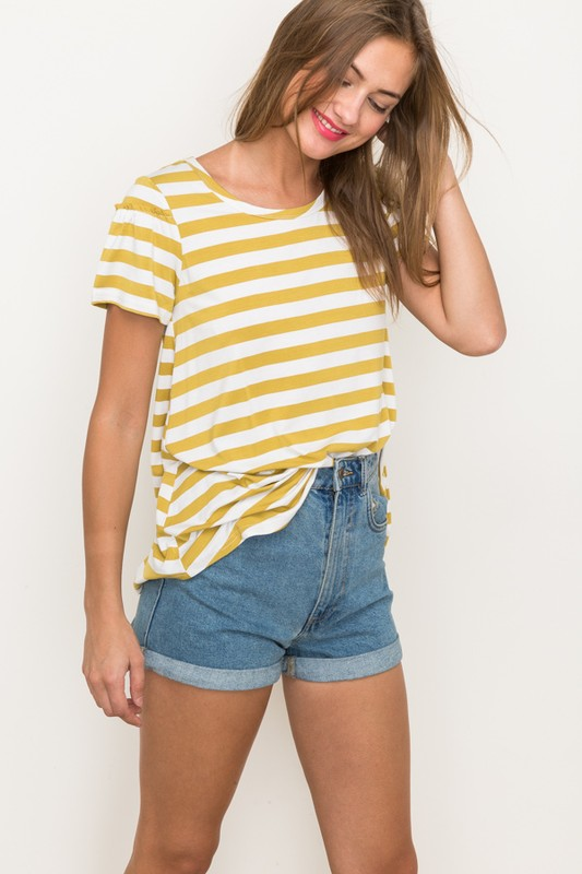 Meadow Stripe Tee